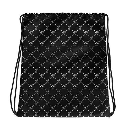 MC Pattern Drawstring bag