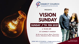 Copy of vision sunday church flyer - Mad