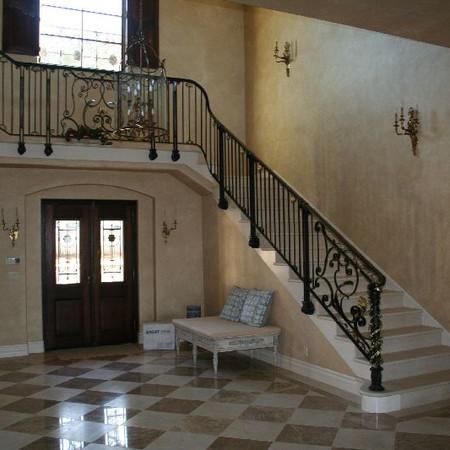 Interior railing