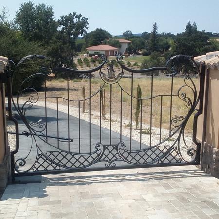 Entrace gate
