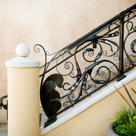 Commerical railing