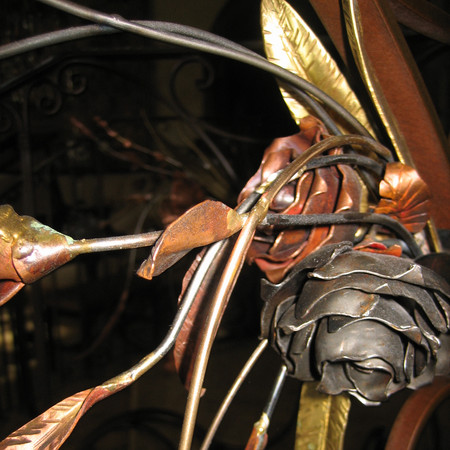 floral steel