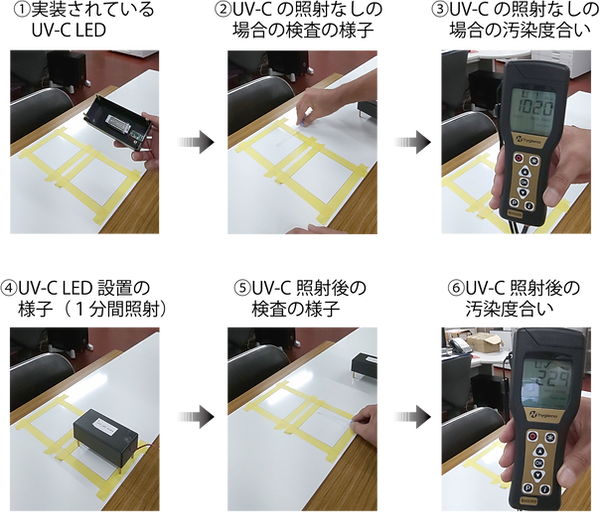 UVC LED実験部分.png
