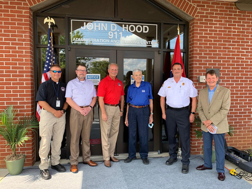 9-1-1 Administration and Training Center Named After John D. Hood by RCECD