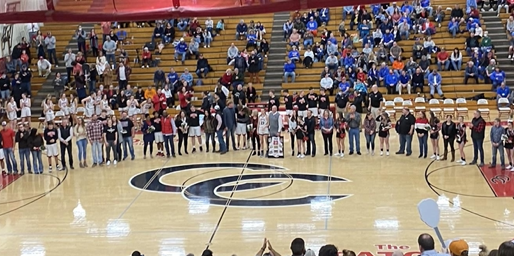 Coffee County High School celebrates Senior Night.