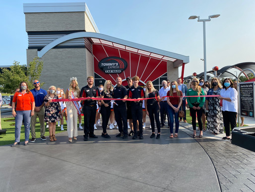 Murfreesboro Grand Opening of Tommy's Express Car Wash