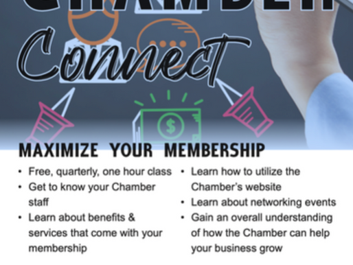 Tullahoma Chamber of Commerce to Hold Connection Event