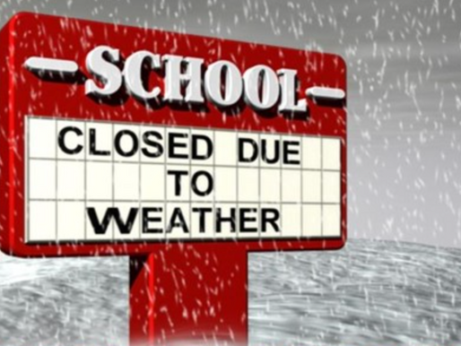 School Closings for Friday Feb, 22nd