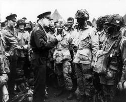 Pres. Eisenhower Speech Paratroopers