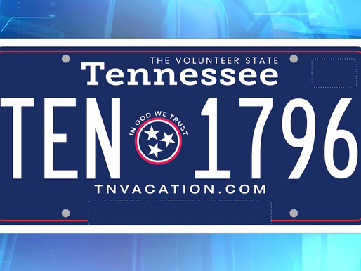 Vote for New License Plates in Tennessee