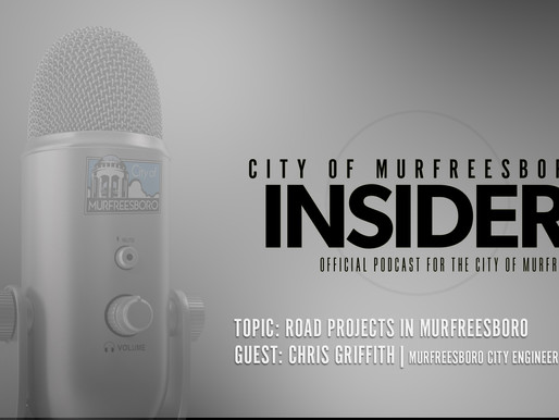"""New Road Projects for Murfreesboro Announced on """"The Insider"""" Podcast"""