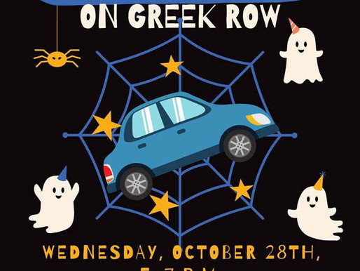 """Celebrate Halloween with MTSU Panhellenic's """"Trick or Treat on Greek Row"""""""