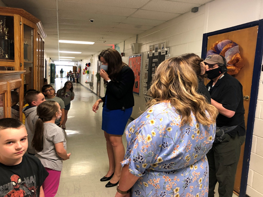 Tennessee Commissioner of Education Dr. Penny Schwinn Visits Cannon County Schools