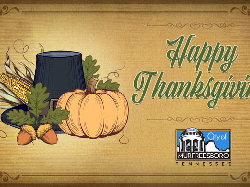City Offices Closing for Thanksgiving Day Nov. 26-27