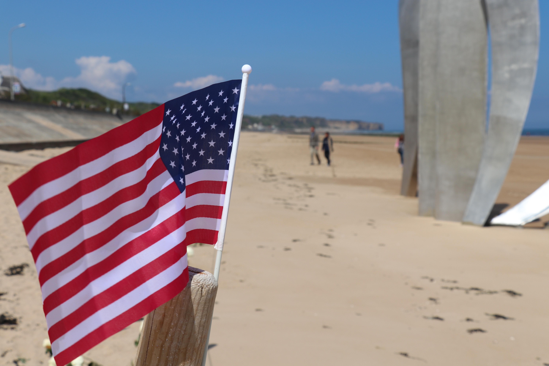 Omaha Beach Memorial