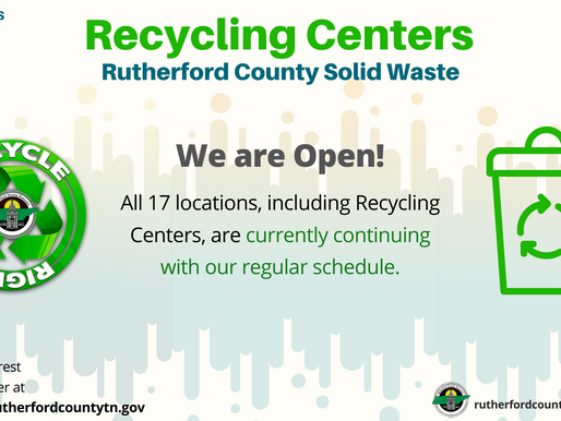 Rutherford County Restricts Waste Disposal