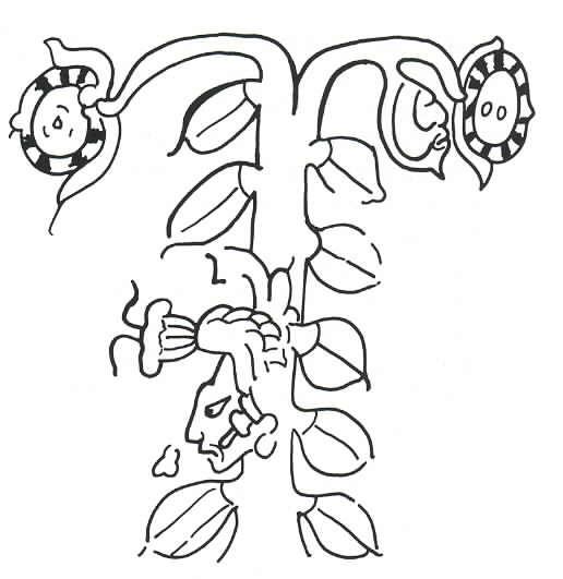 Hun Hunajpu come albero