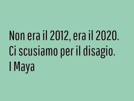 """Questo periodo da una prospettiva """"maya"""""""