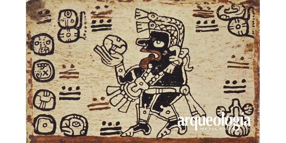 Ek Chuah, dio della Guerra. Immagine tratta del sito in link.