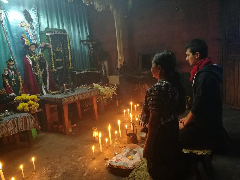 Preghiera al Nahual San Nicolas - Tijax