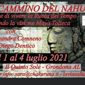 Il Cammino del Nahual, l'arte di vivere la Ruota del Tempo secondo la visione Maya-Tolteca