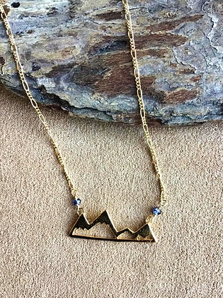 Golden Mountains Majesty Necklace