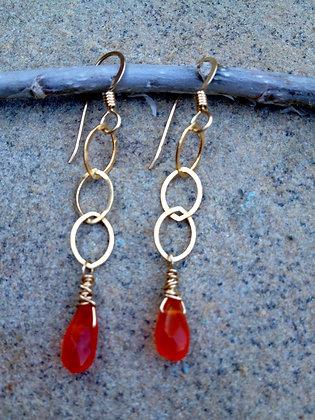 Tangerine Dream Earrings