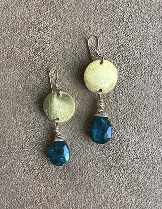 Van  Gogh Kyanite Earrings