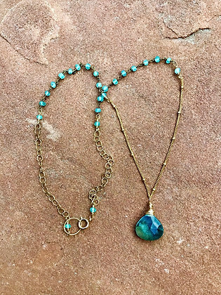 Positively Peaceful Summer Necklace