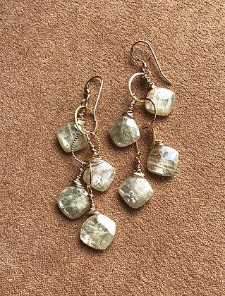 Squares of Light Earrings