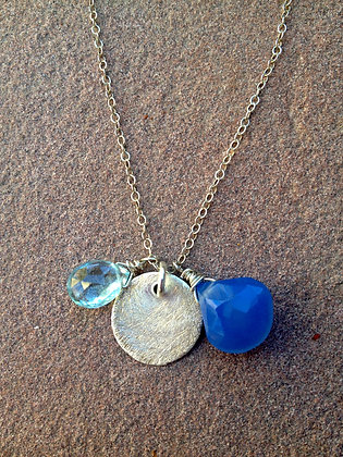 Jingle Blues Necklace