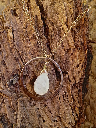 Mixed Metals Icicle Necklace