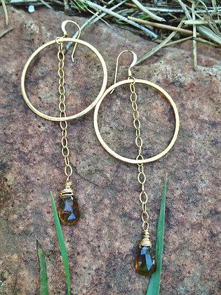 Swinging From a Star Earrings