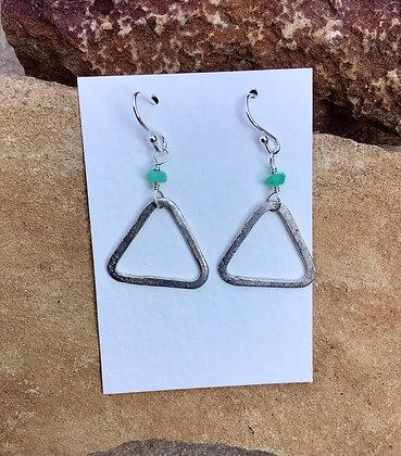 Triangle Manifestation Earrings
