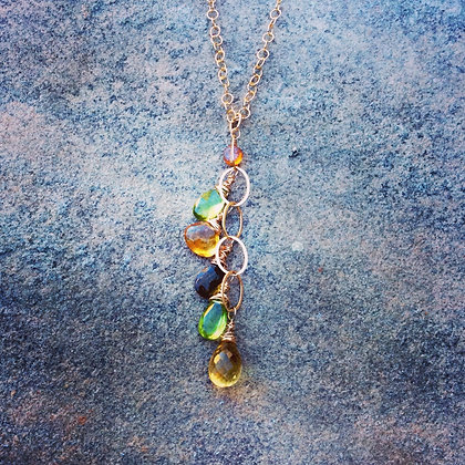 Falling Leaves Necklace.