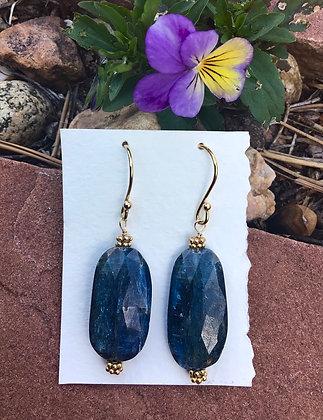 Queenly Kyanite Earrings