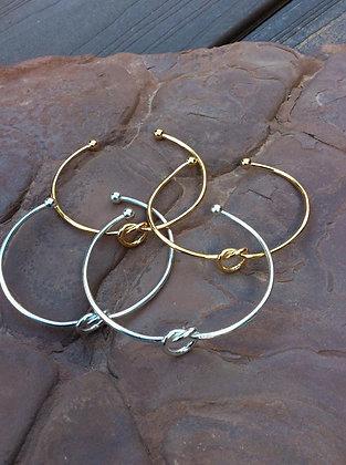 Love Knot Bracelet (Vermeil Gold)