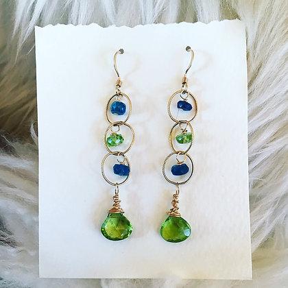 Spring Circles Earrings