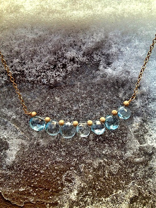 String o' Blue Lights Earrings