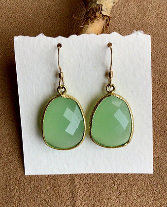 Peridot Renewal Earrings
