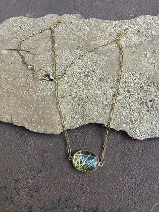 Golden Sunlight Necklace