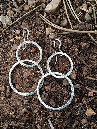 Double Bubble Sterling Earrings