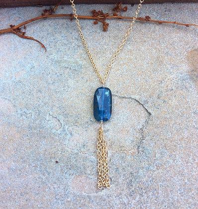 Kyanite Fringe Necklace