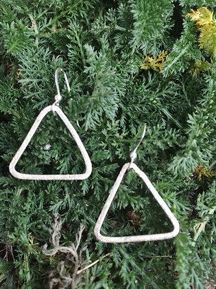 Silver Geometry Earrings