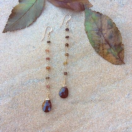 Leaves of October Earrings