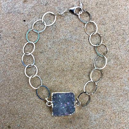 Sparkle Squared Goldfill Bracelet