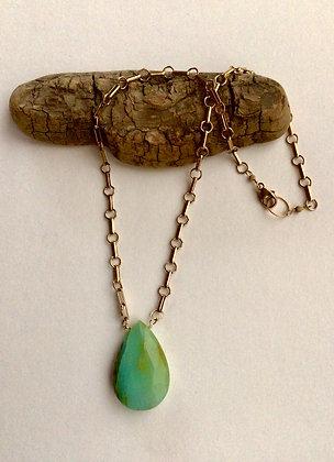 Hunk o' Peace Opal Necklace