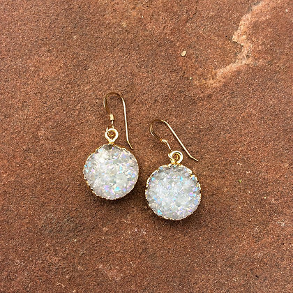 Full Moon in Sparkle Earrings