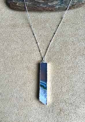 Amethyst Slice Delight Necklace