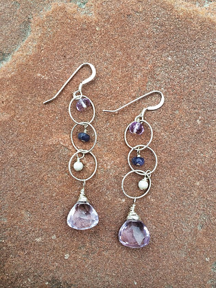 Purple Palooza Earrings
